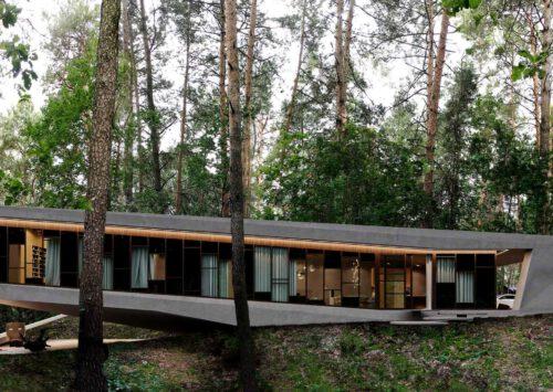 RE: JOSHUA TREE HOUSE projektu architekta Marcina Tomaszewskiego REFORM Architekt