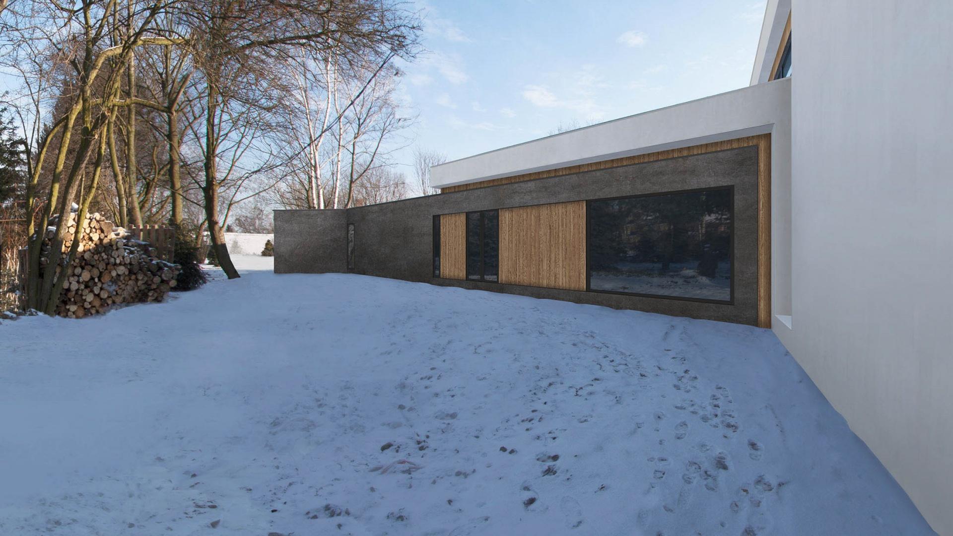 Dom RE: GROUND FLOOR HOUSE 1.0 projektu architekta Marcina Tomaszewskiego REFORM Architekt