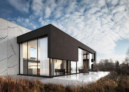 RE: MARBLE HOUSE projektu architekta Marcina Tomaszewskiego REFORM Architekt