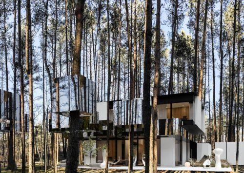 Dom RE: MIRROR HOUSE 3.0 projektu architekta Marcina Tomaszewskiego REFORM Architekt