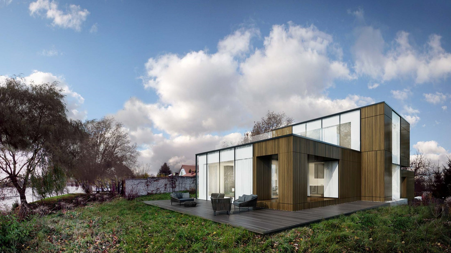 RE: TRIPLE BOX HOUSE projektu architekta Marcina Tomaszewskiego REFORM Architekt