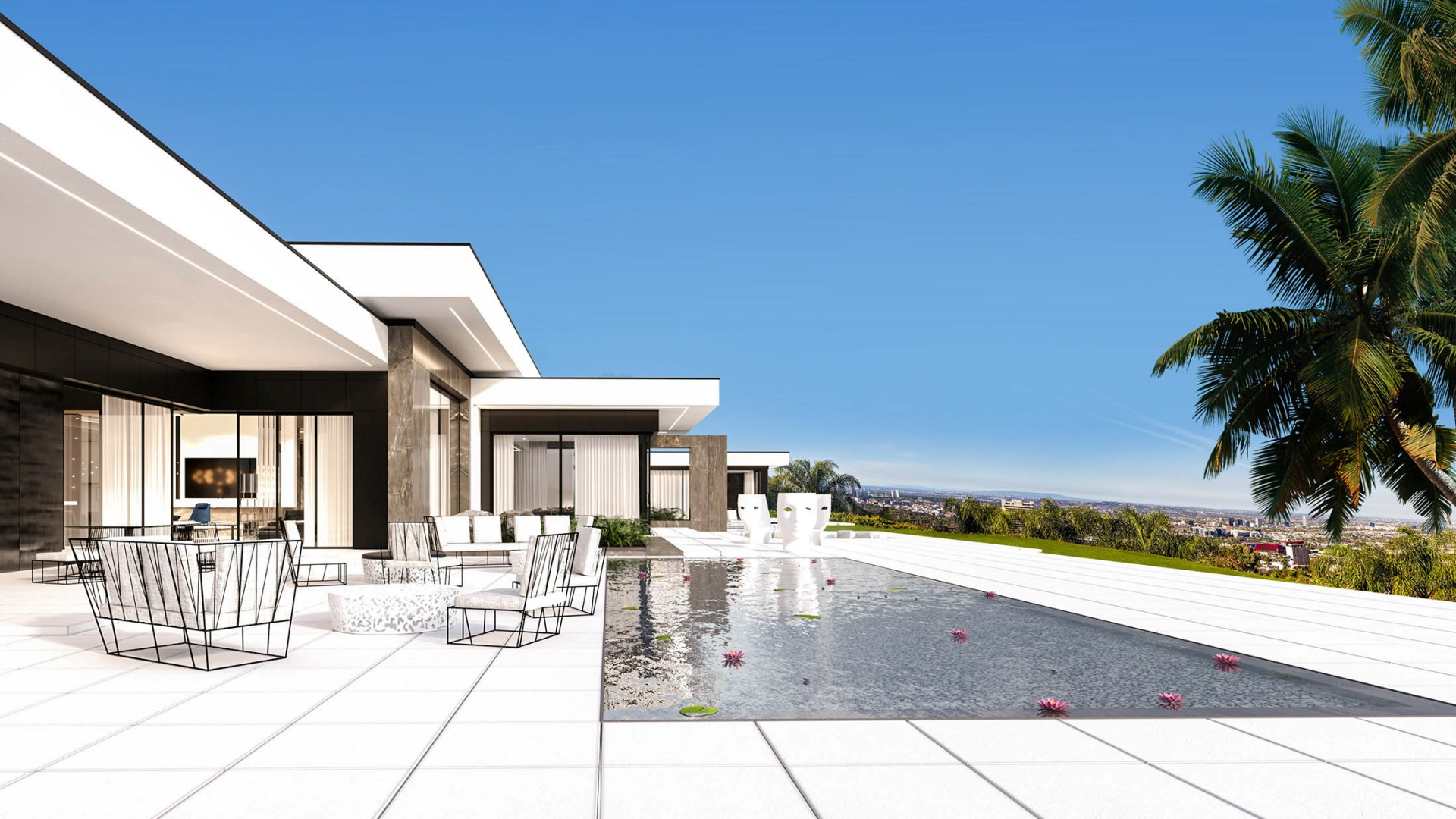 RE: BEVERLY HIILS HOUSE projektu architekta Marcina Tomaszewskiego REFORM Architekt