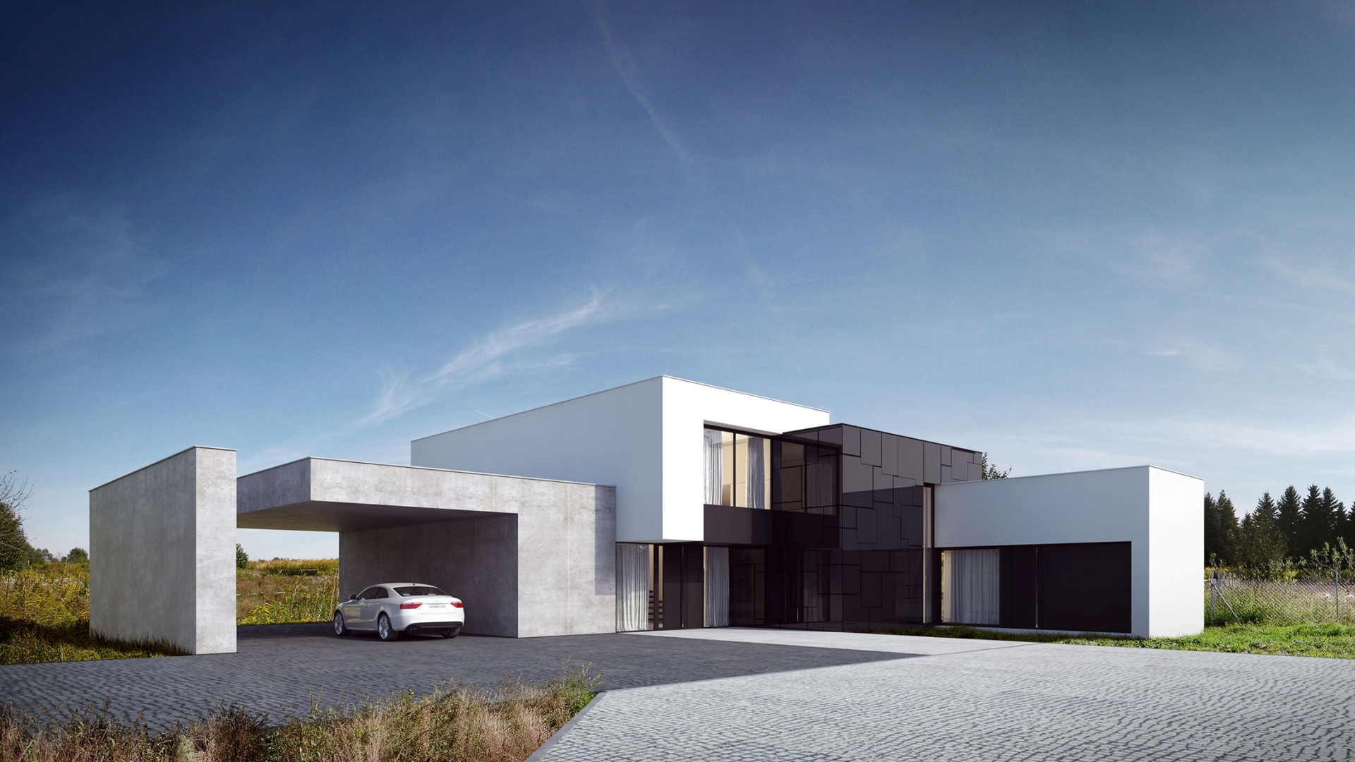 RE: BLACK MIRROR HOUSE 2.0 projektu architekta Marcina Tomaszewskiego REFORM Architekt