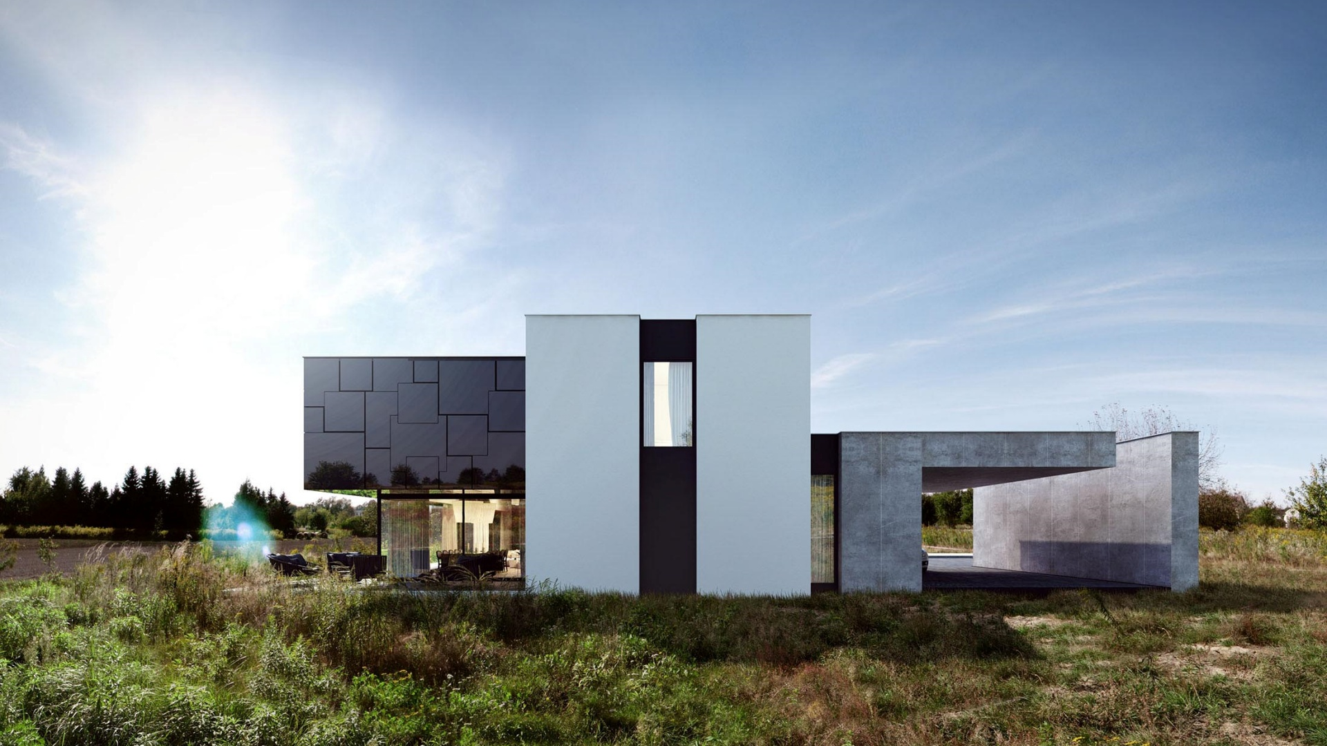 RE: BLACK MIRROR HOUSE 2.0 projektu architekta Marcina Tomaszewskiego REFORM Architekt