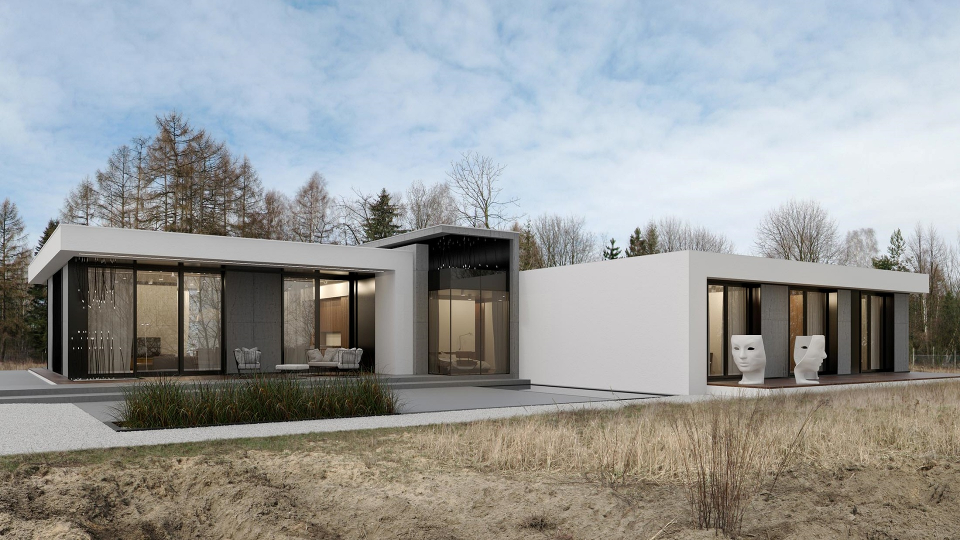 RE: CONCRETE HOUSE projektu architekta Marcina Tomaszewskiego REFORM Architekt