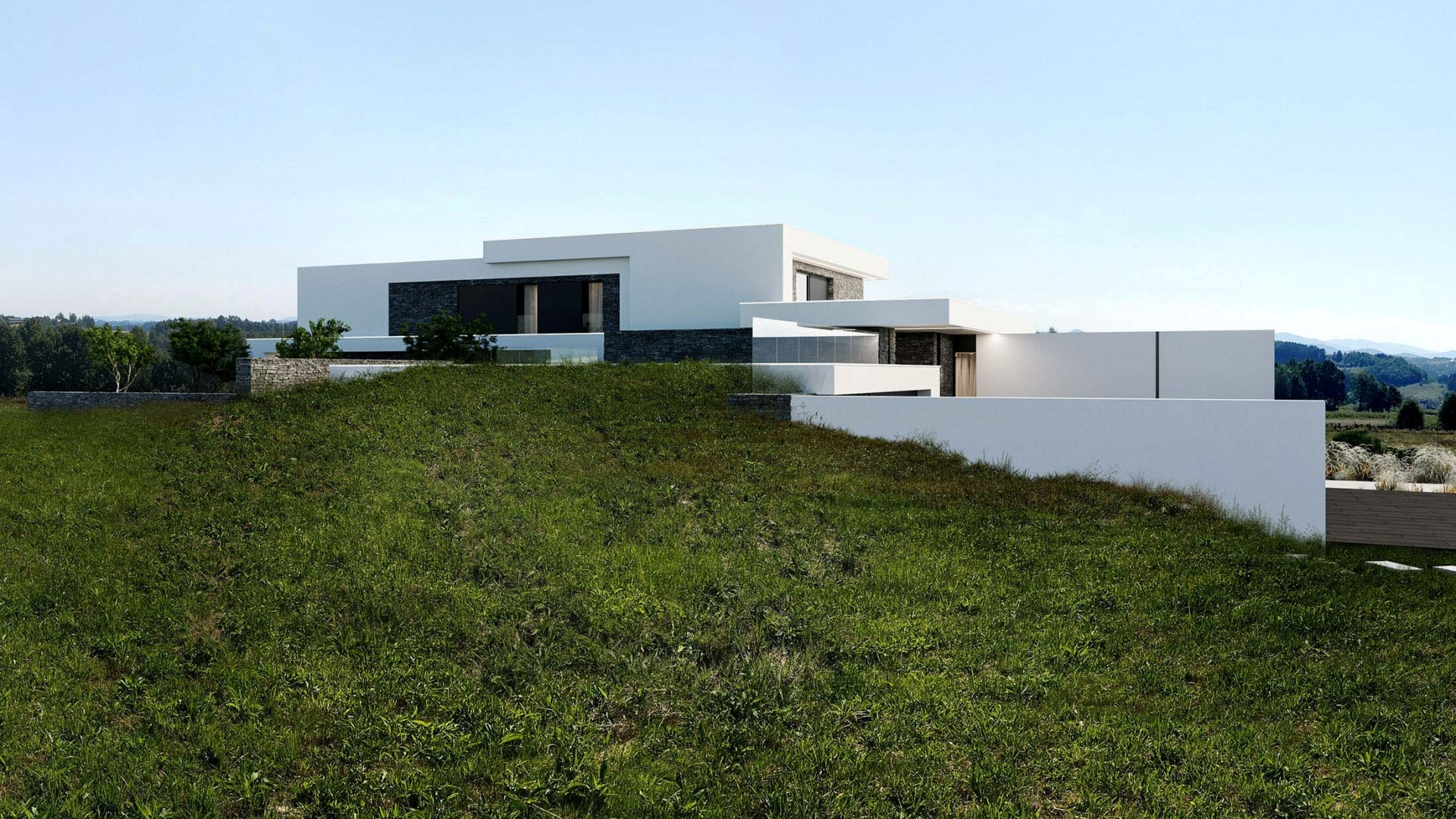 RE: GRADED HOUSE projektu architekta Marcina Tomaszewskiego REFORM Architekt