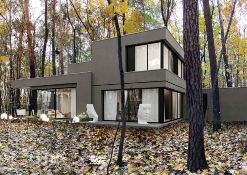 RE: GREY HOUSE projektu architekta Marcina Tomaszewskiego REFORM Architekt