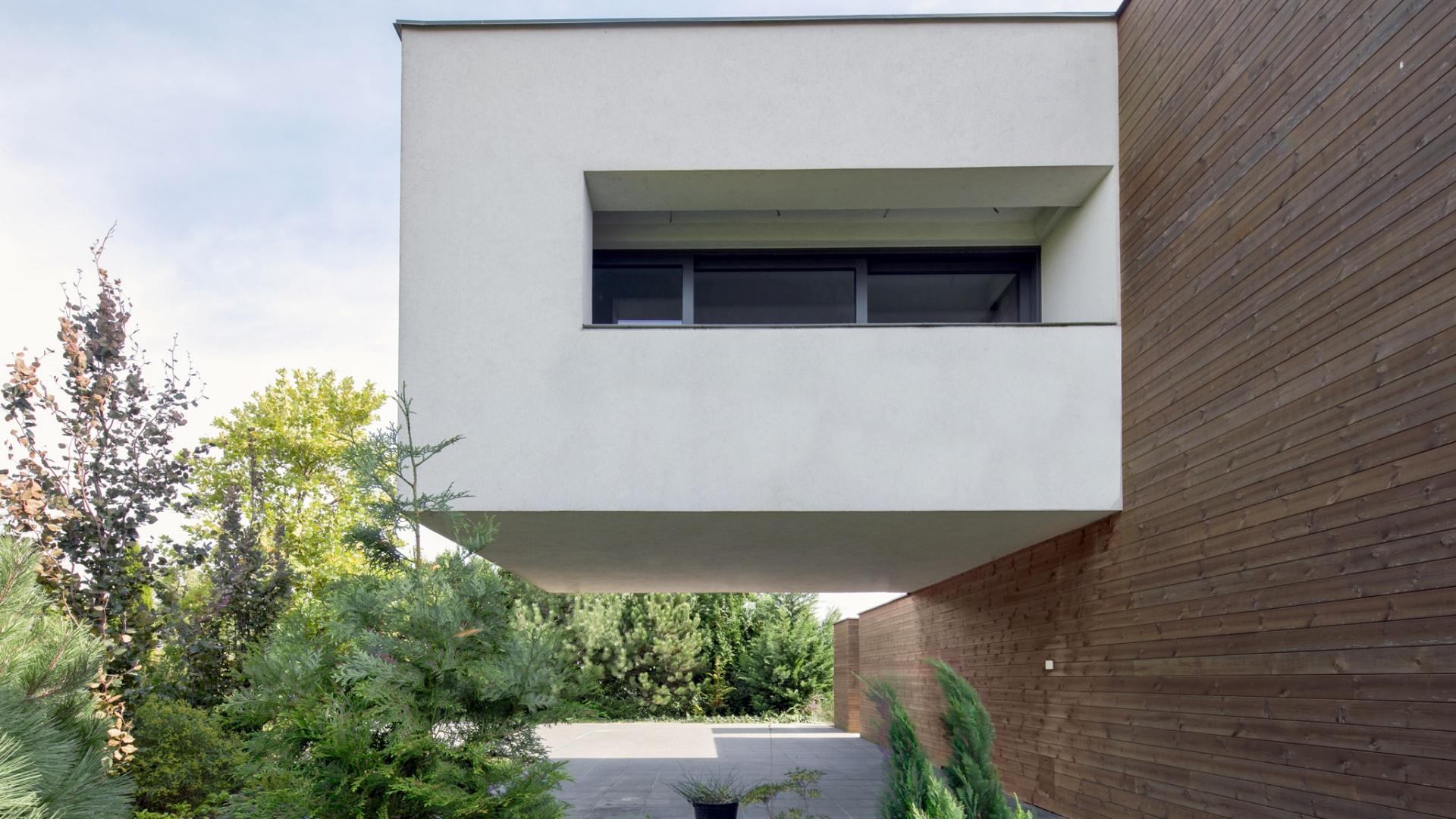 Dom RE: HANGING HOUSE projektu architekta Marcina Tomaszewskiego REFORM Architekt