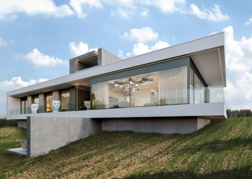 RE: HILLSIDE HOUSE projektu architekta Marcina Tomaszewskiego REFORM Architekt