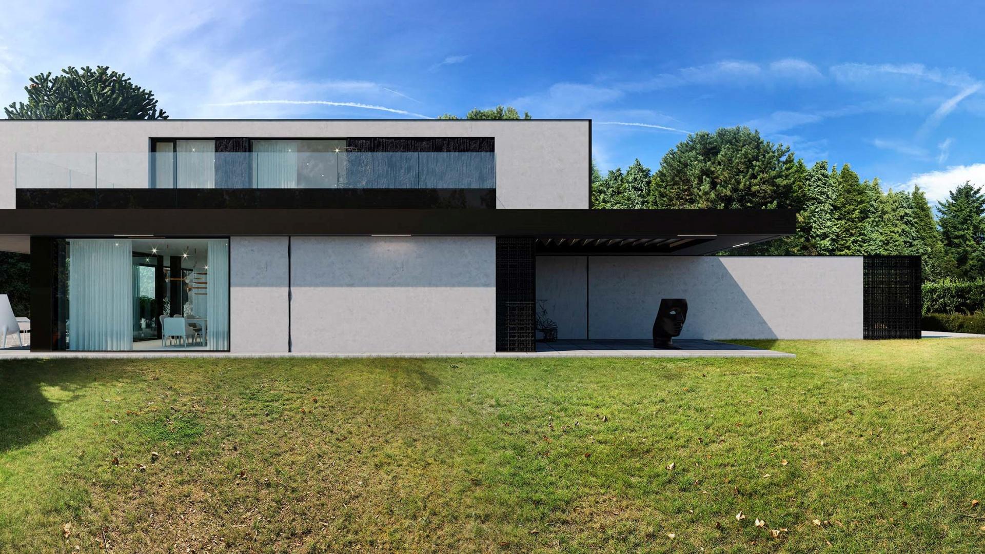 Dom RE: HOUSE IN BELGIUM projektu architekta Marcina Tomaszewskiego REFORM Architekt