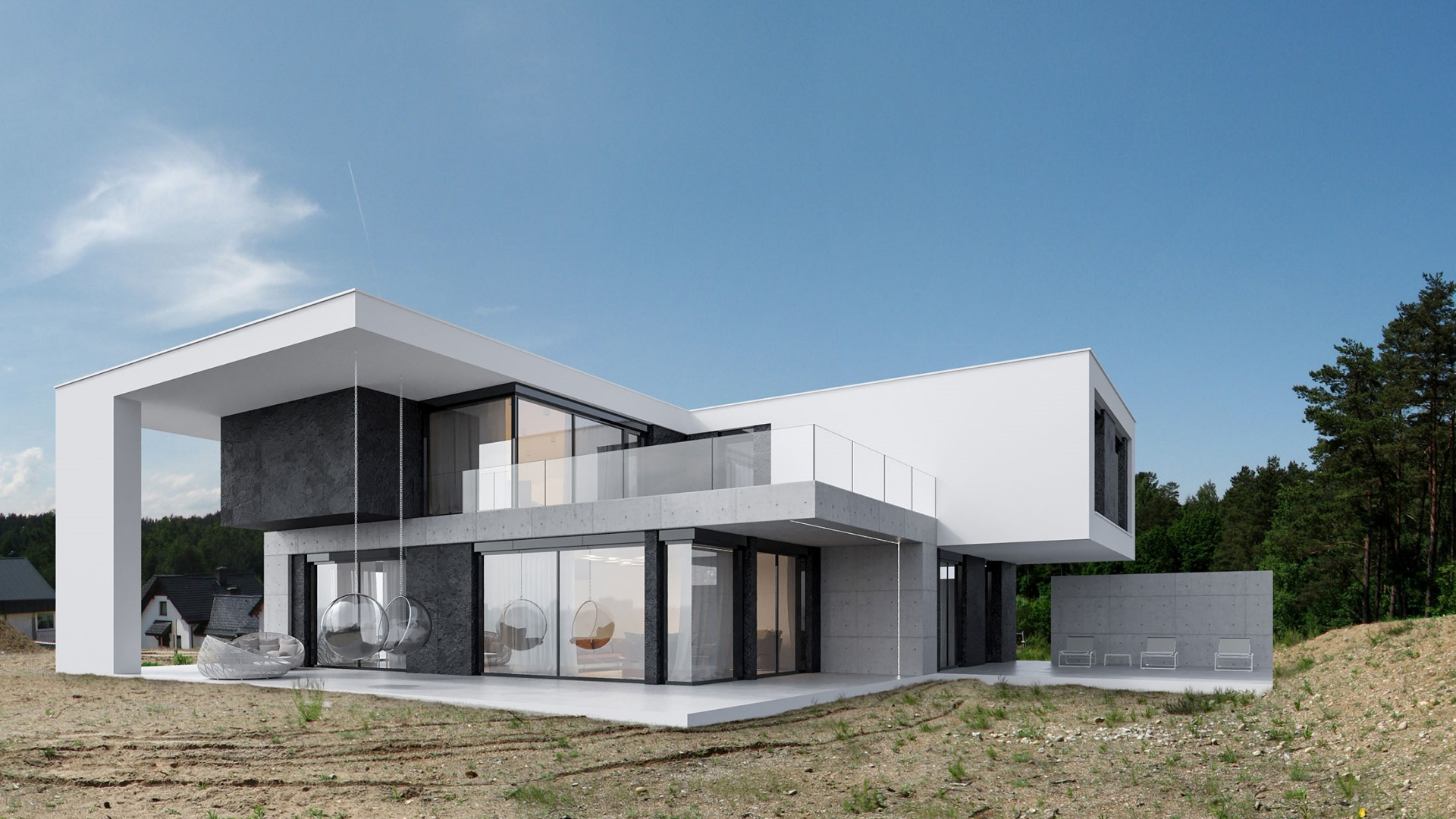 RE: HOUSE ON THE SAND projektu architekta Marcina Tomaszewskiego REFORM Architekt