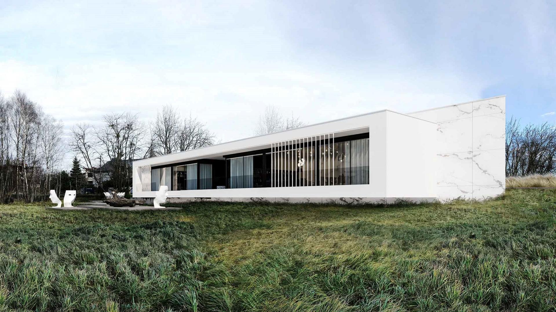 RE: PARALLEL HOUSE projektu architekta Marcina Tomaszewskiego REFORM Architekt