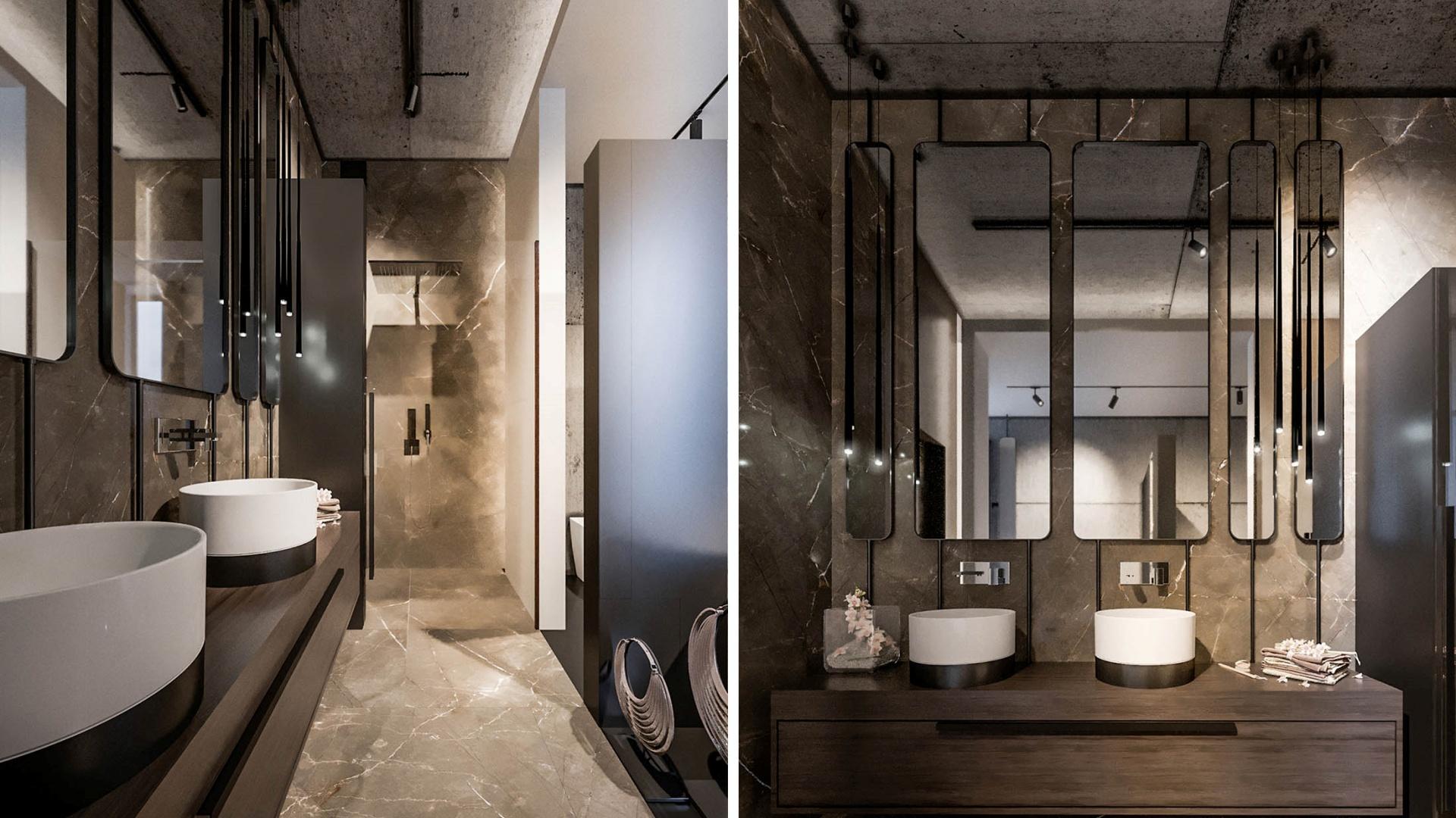 Projekt wnętrz RE: CONCRETE HOUSEprojektu architekta Marcina Tomaszewskiego REFORM-Architekt
