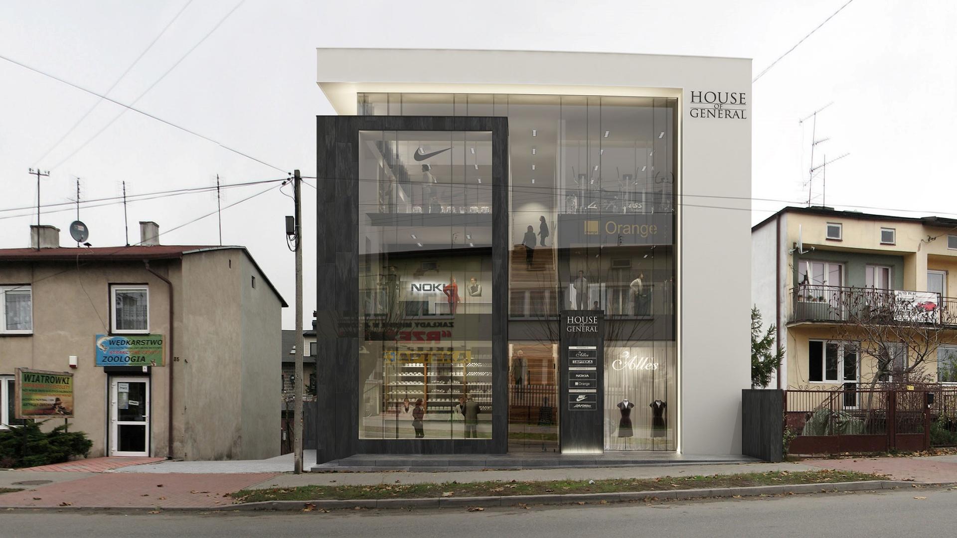 Projekt wnętrz RE: HOUSE OF GENERAL projektu architekta Marcina Tomaszewskiego REFORM Architekt