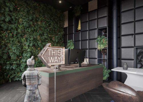 Projekt wnętrz RE: INDIGO OFFICE projektu architekta Marcina Tomaszewskiego REFORM-Architekt