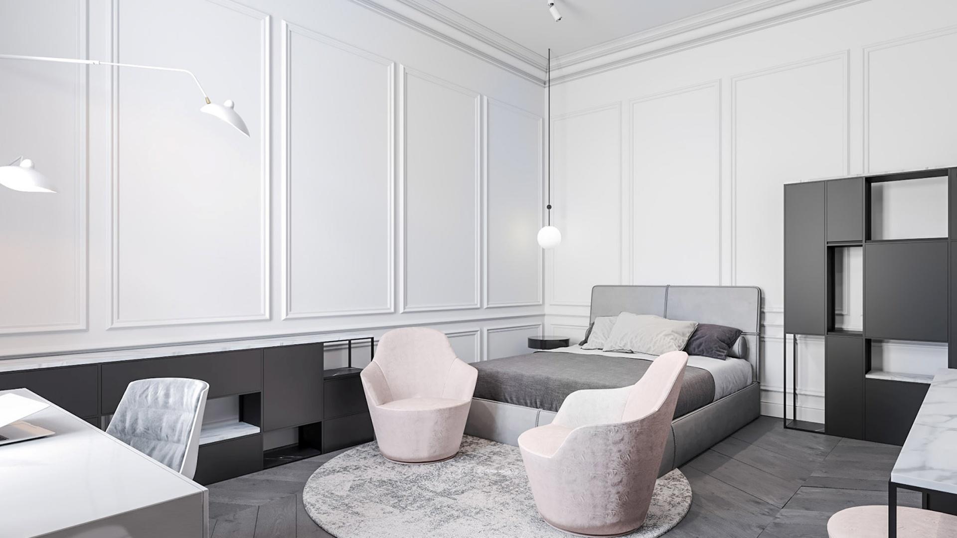 Projekt wnętrz apartamentu w Warszawie projektu architekta Marcina Tomaszewskiego REFORM-Architekt