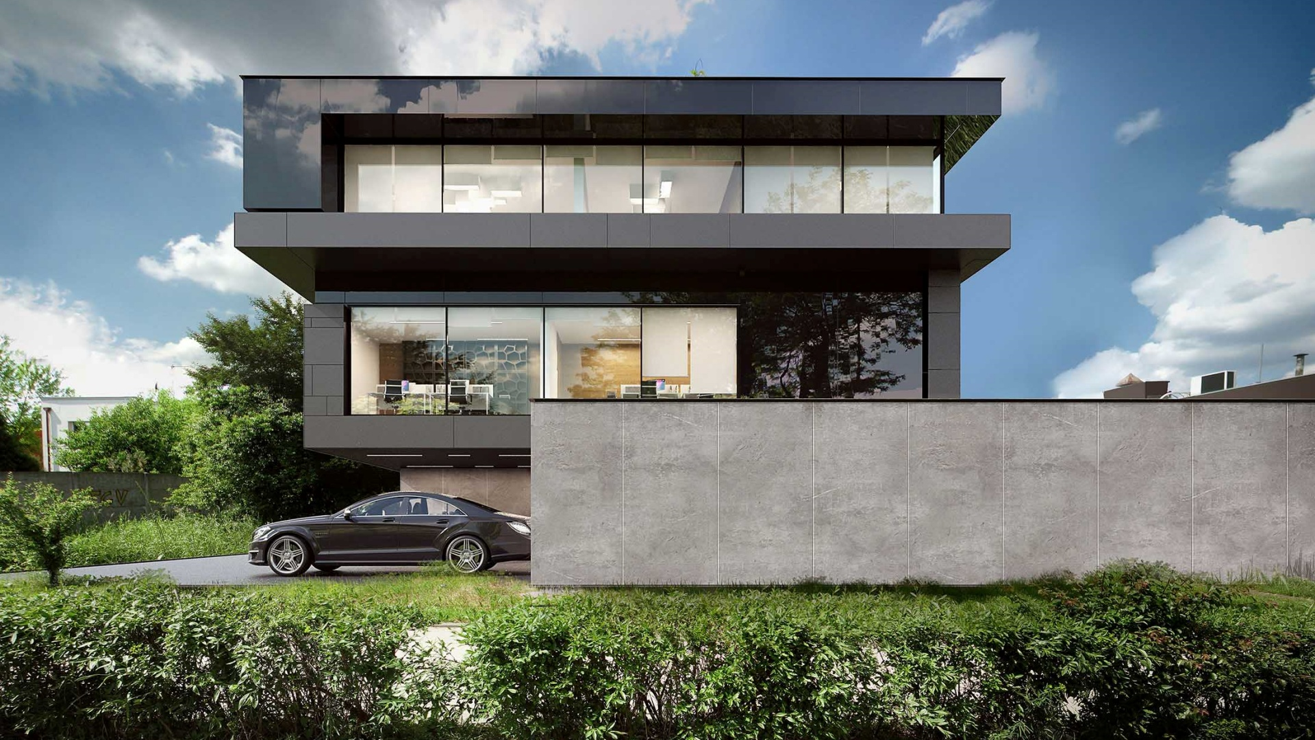 RE: INSENSE BUILDING projektu architekta Marcina Tomaszewskiego REFORM Architekt