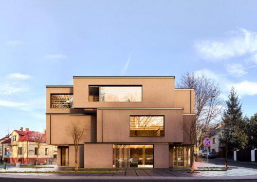 RE: OFFICE BUILDING IN ŻYWIEC projektu architekta Marcina Tomaszewskiego REFORM Architekt