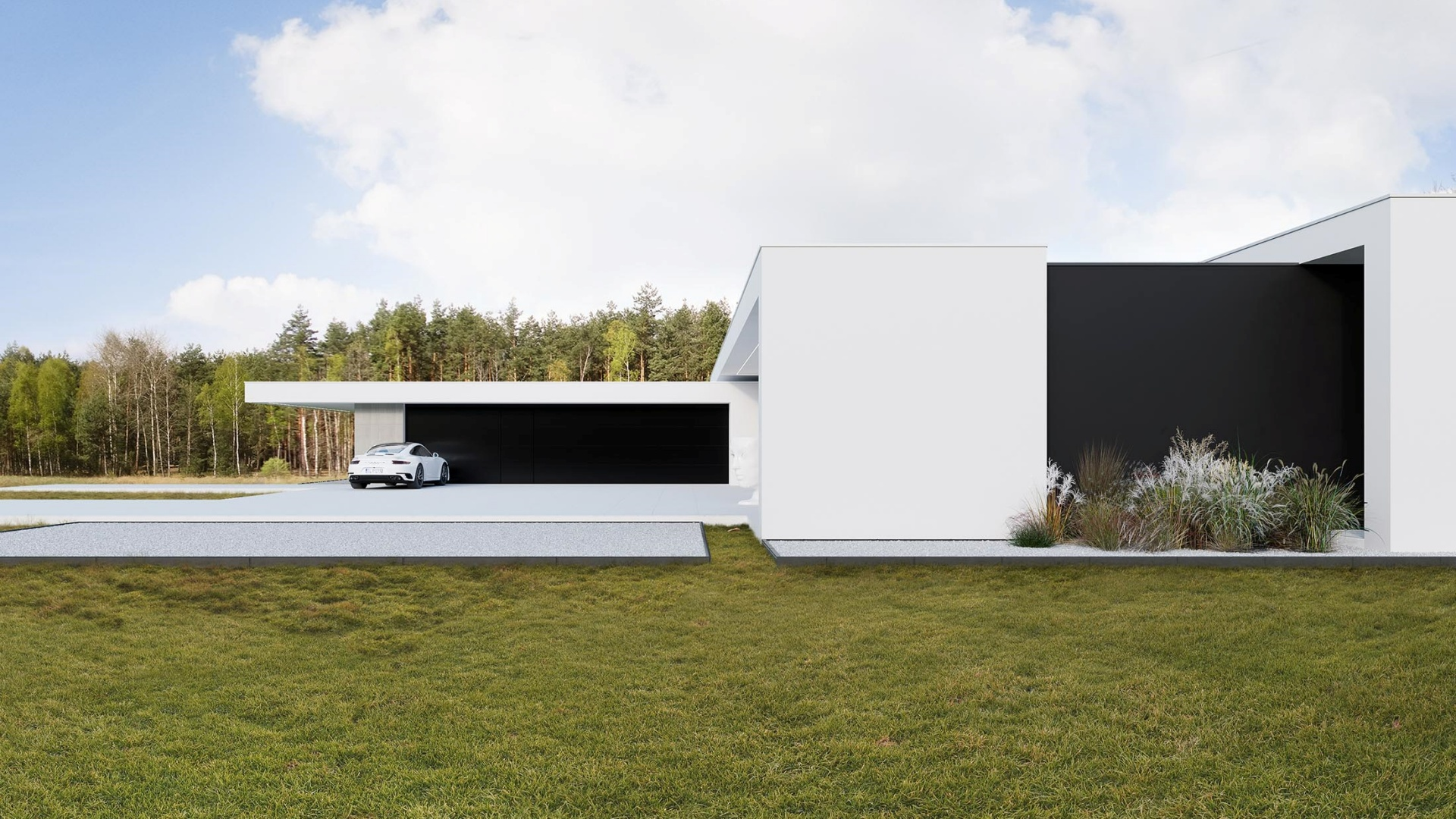 RE: DOUBLE L HOUSE projektu architekta Marcina Tomaszewskiego REFORM Architekt
