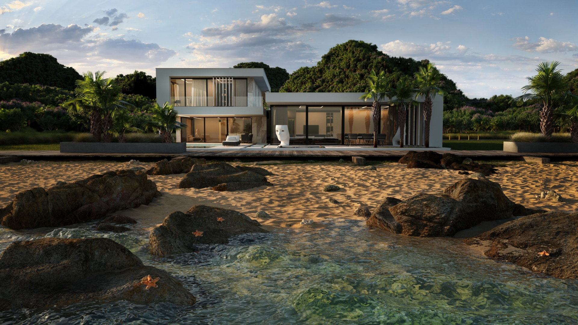 RE: MALIBU HOUSE projektu architekta Marcina Tomaszewskiego REFORM Architekt